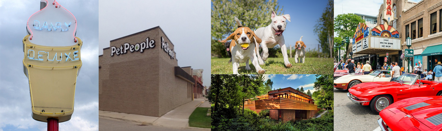 Collage of Birmingham PetPeople store location