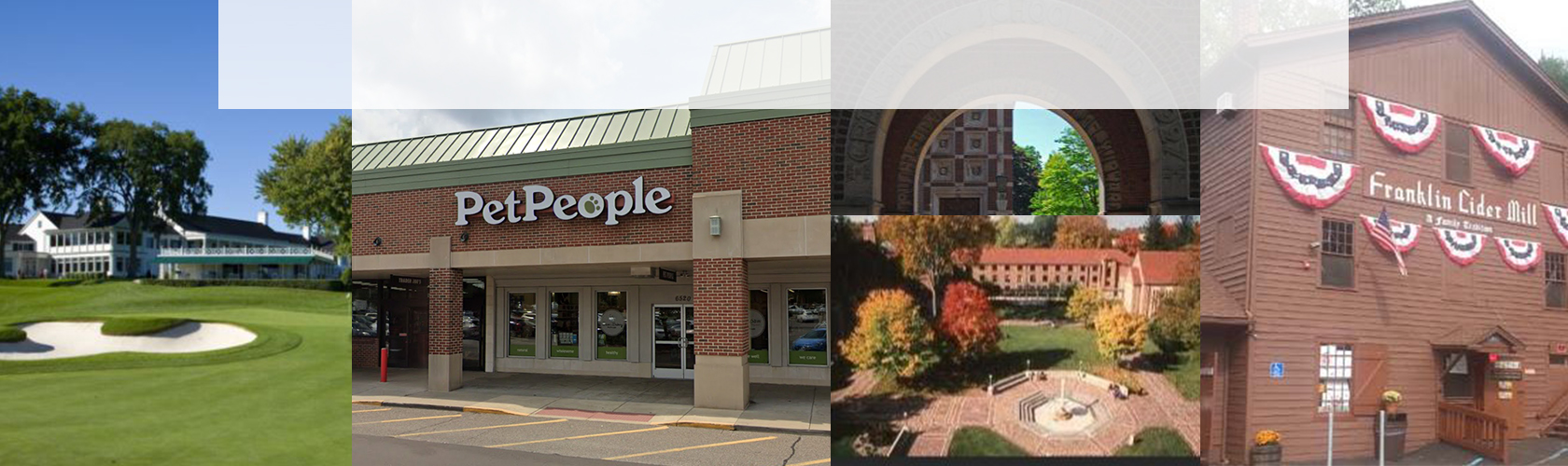 Collage of Bloomfield PetPeople store location
