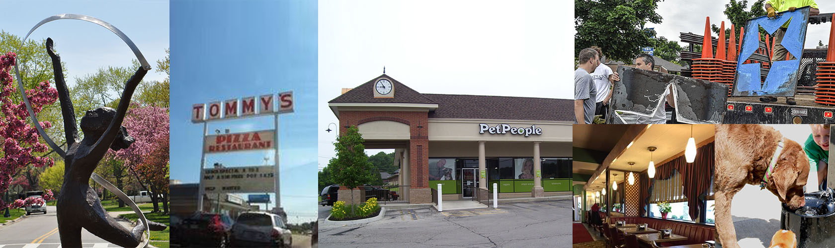 Pet people store collage in Upper Arlington