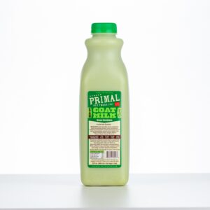 Primal Raw Frozen Goat Milk 'Green Goodness' for Dogs & Cats